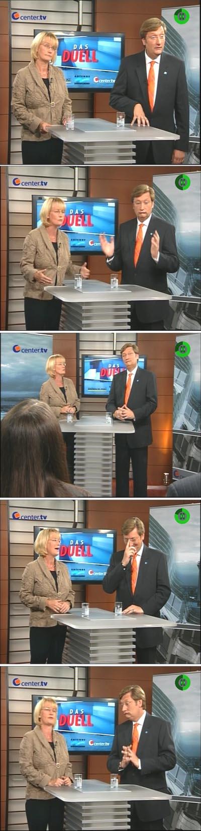 Bei Center.tv gab's ein TV-Duell mit den beiden aussichtsreichsten Kandidaten: Karin Kortmann oder Dirk Elbers. Wen würdest du wählen?